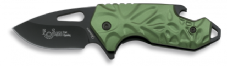 Green Scale Folding Knife